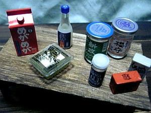 冷や奴をツマミに日本酒