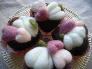 羊毛フェルトで作るガトーショコラ_3