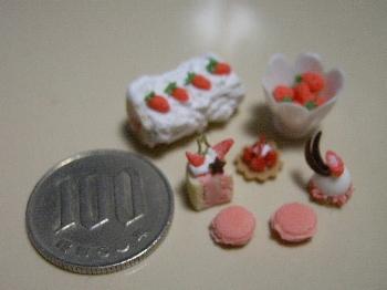 粘土で作る「春の苺づくし!」_2