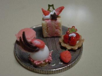粘土で作る「春の苺づくし!」_3