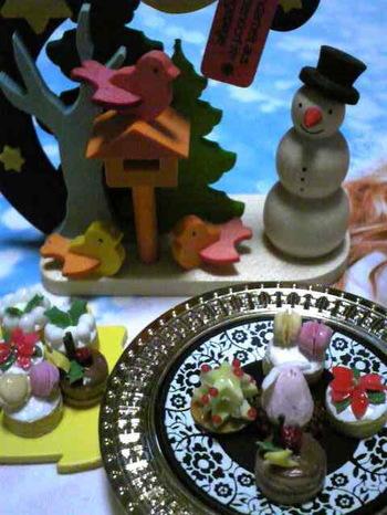 粘土のメリークリスマス
