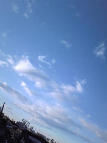 2009年1月1日の空
