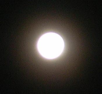 2009年1月12日の月