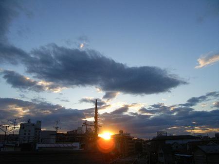 2010/5/27の夕暮れ