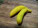 粘土のバナナ