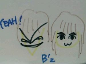 B'zの似顔絵