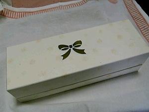 お菓子の箱?