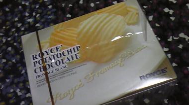 ポテトチップチョコレート[フロマージュブラン]