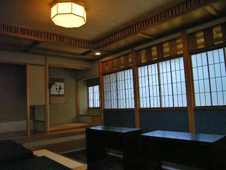 二の松茶室(立礼席)