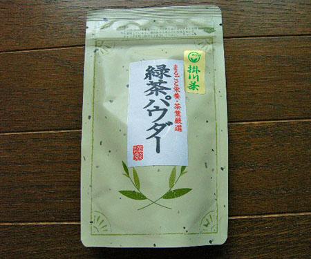 緑茶パウダー