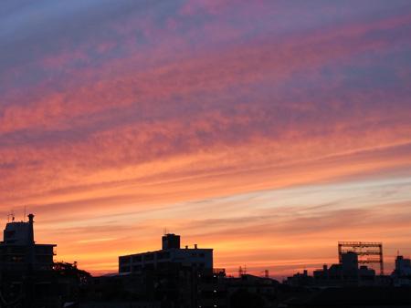 2011年5月24日の夕焼け