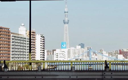 隅田川の景色