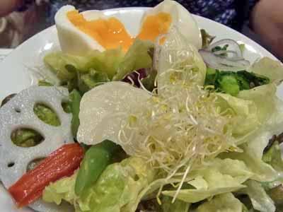 グランデサイズのサラダセット