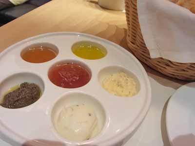 6種類のディップ